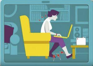 higiene postural silla gaming