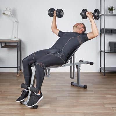 banco musculación ultrasport