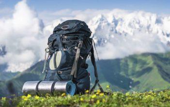 mochila trekking montaña