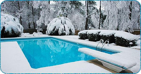 Consejos para cuidar una piscina en invierno